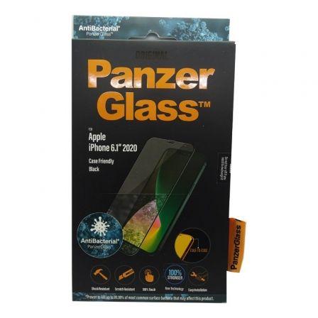 Protector de Pantalla Panzerglass 2711 para iPhone 12/ 12 Pro/ Negro