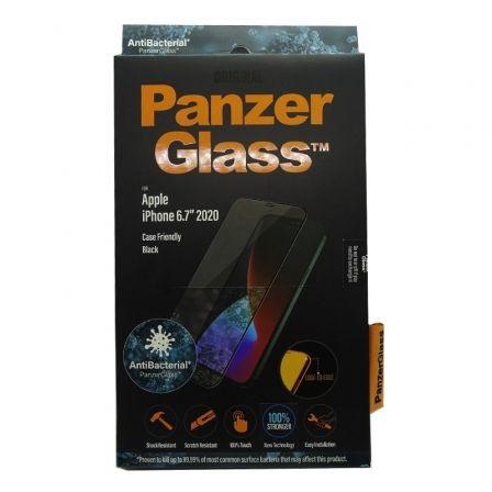 Protector de Pantalla Panzerglass 2712 para iPhone 12 Pro Max/ Negro