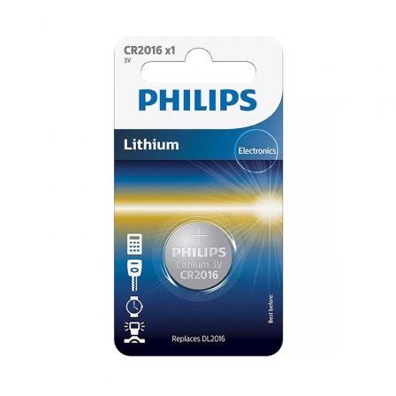 Pila de Botón Philips CR2016/ 3V
