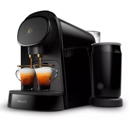 Cafetera de Cápsulas Philips L'Or Barista LM8014/60/ Negra/ Compatible cápsulas Nespresso y L'OR