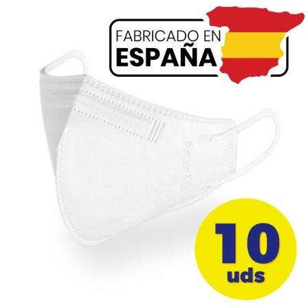 Mascarillas FFP2 Pintado And Co M98/ Pack 10 uds en bolsa individual/ Blanca
