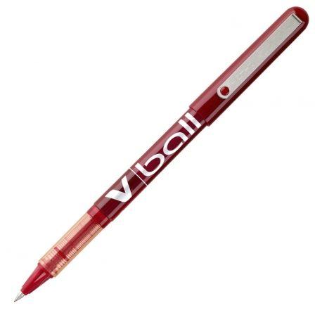 Bolígrafo de Tinta Líquida Pilot V-Ball NVBR/ Rojo