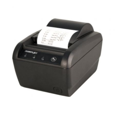 Impresora de Tickets Posiflex PP-8802/ Térmica/ Ancho papel 80mm/ USB-RS232/ Negra