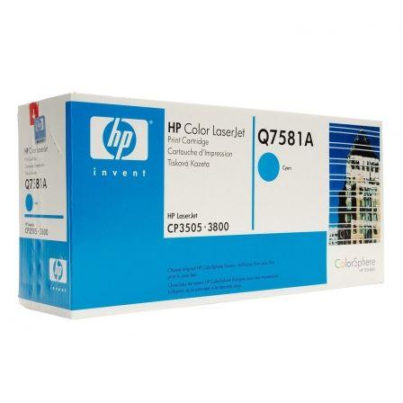 Tóner Original HP nº503X XL Alta Capacidad/ Cian