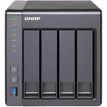 NAS QNAP TS-451+-2G - 4 BAHÍAS (3.5/2.5) - CPU INTEL J1900 2.0GHZ - 2GB DDR3L - 2*GIGABIT ETHERNET - 2*USB 2.0 - 2*USB 3.2 GEN1 - HDMI - FORMATO TORRE
