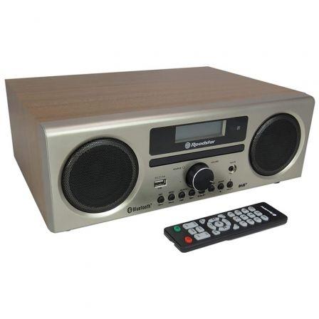 Minicadena Roadstar HRA-9D/ 240W/ Bluetooth/ Marrón