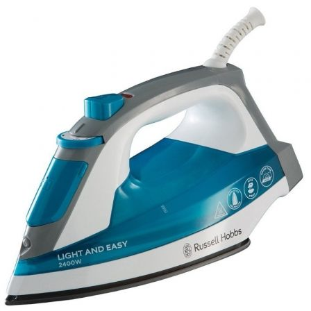 Plancha Russell Hobbs Supreme Steam Light Easy 23590-56/ 2400W/ Depósito 240ml