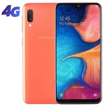 SMARTPHONE MÓVIL SAMSUNG GALAXY A20E CORAL - 5.8'/14.7CM - CAM (13+5)MP/8MP - OC (1.6GHZ+1.35GHZ) - 32GB - 3GB RAM - ANDROID - 4G - DUAL SIM - BA3000M