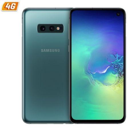 SMARTPHONE MÓVIL SAMSUNG GALAXY S10E GREEN - 5.8'/14.7CM - CAM (12+16)/10MP - EXYNOS 9180 OCTA - 128GB - 6GB RAM - ANDROID 9 - 4G - DUAL SIM -BAT3100M