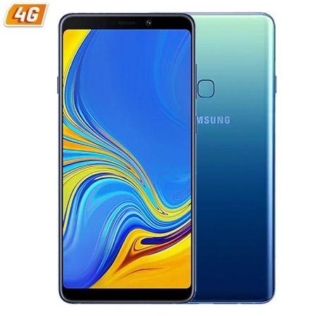 SMARTPHONE MÓVIL SAMSUNG GALAXY A9 LEMONADEBLUE - 6.3'/15.95CM FHD+ - 4 CÁMARAS TRASERAS - OC 2.2/1.8GHZ - 128GB - 6GB RAM - 4G - DUAL SIM - ANDROID