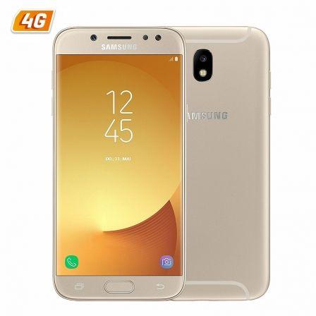 SMARTPHONE MÓVIL SAMSUNG GALAXY J5 (2017) ORO - 5.2'/13.2CM HD - DUAL CAM 13/13MP - OC 1.6GHZ - 16GB - 2GB - 4G - ANDROID - BT - DUAL SIM - 3000MAH