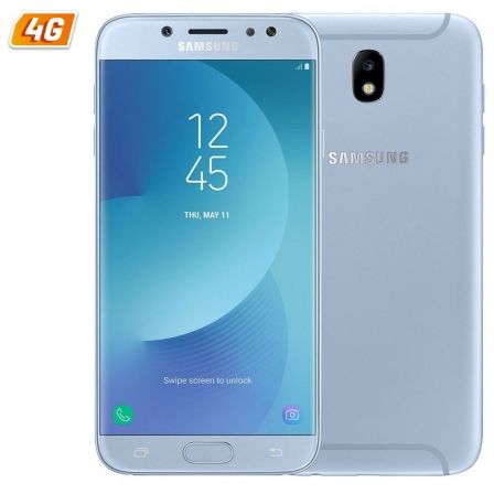 SMARTPHONE MÓVIL SAMSUNG GALAXY J730 J7 (2017) BLUE - 5.5'/13.95CM FHD - CAM 13/13MP - OC 1.6GHZ - 16GB - 3GB RAM - 4G - ANDROID - DUAL SIM- BT