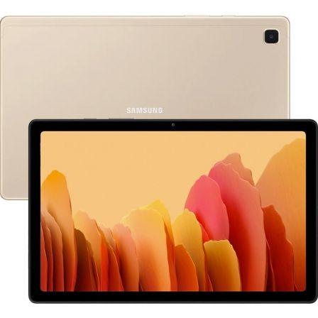 "TABLET SAMSUNG GALAXY TAB A7 2020 T500 GOLD - 10.4""/26.41CM - OC - 32GB - 3GB RAM - ANDROID - CAM 8+5 MPX - MICRO SD - BAT.7040MAH"