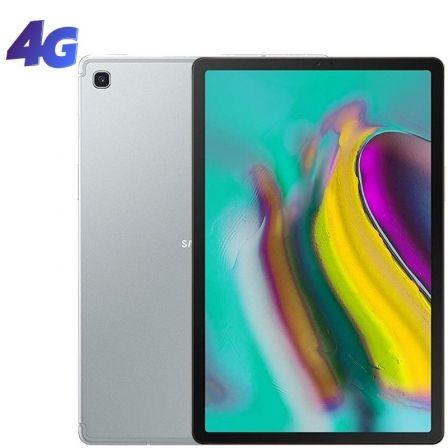 TABLET SAMSUNG GALAXY TAB S5E T725 (2019) SILVER - 10.5'/26.6CM - OC (2*2.0GHZ+6*1.7GHZ) - 64GB - 4GB RAM - 4G - ANDROID - CAM 13/8MP - BAT. 7040MAH