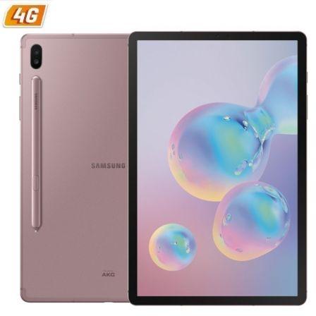 "TABLET SAMSUNG GALAXY TAB S6 T865 4G ROSE PINK - 10.5""/26.68CM - OC - 128GB - 6GB RAM - ANDROID PIE - CAM (13+5)+8MPX - S-PEN - MICRO SD - BAT.7040MAH"