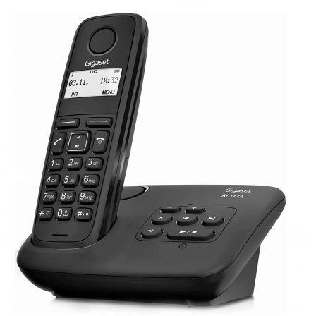 Teléfono Inalámbrico Gigaset AL117A/ Negro