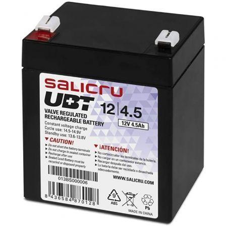 Batería Salicru UBT 12/4,5 compatible con SAI Salicru según especificaciones