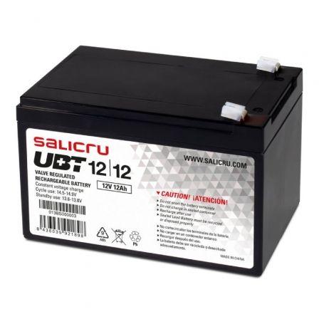 Batería Salicru UBT 12/12 compatible con SAI Salicru según especificaciones