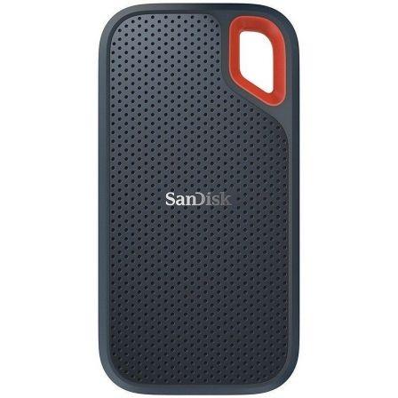 DISCO EXTERNO SANDISK SSD EXTREME PORTABLE 500GB - USB TIPO-C  (INCLUYE ADAPTADOR A USB-A) - VELOCIDAD LECTURA 550MB/S - RUGERIZADO