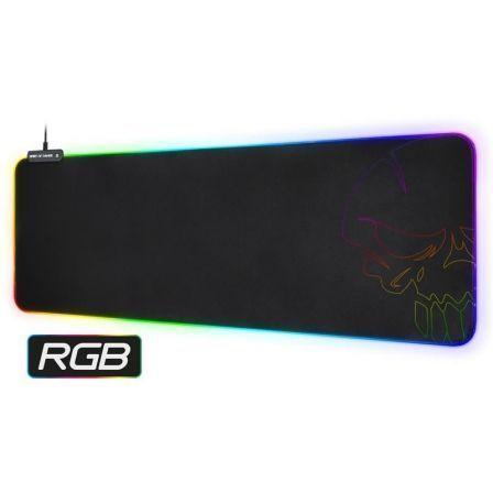 Alfombrilla Spirit of Gamer Skull RGB Gaming con Iluminación LED/ 800 x 300 x 3mm