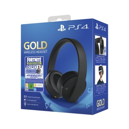 Auriculares inalámbricos sony gold + fortnite voucher - Depau