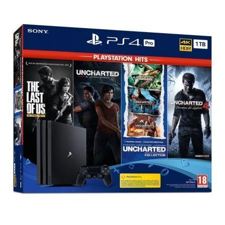 SONY-PS4 PRO 1TB LS UC UL U4