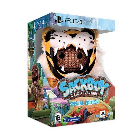 Juego para Consola Sony PS4 Sackboy: Una aventura a lo grande Edición Especial