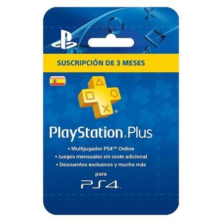 Tarjeta Sony PlayStation Plus Suscripción 3 Meses