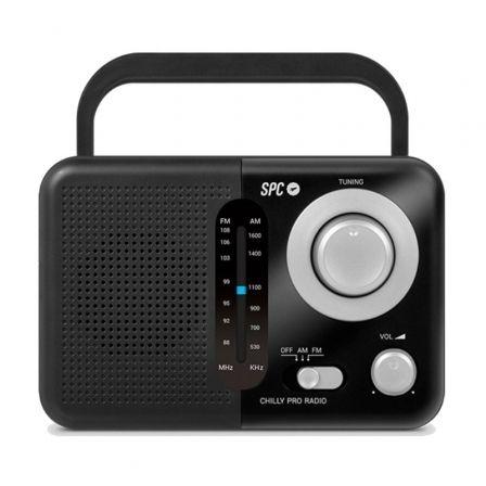 Radio Portátil SPC Valdi/ Negra