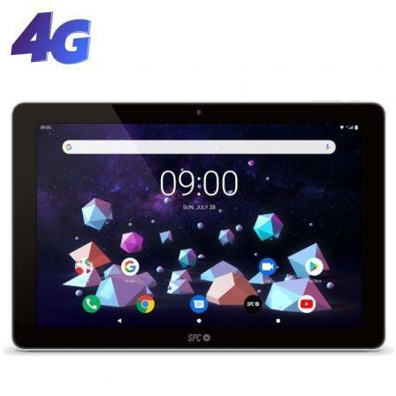 "TABLET SPC GRAVITY OCTACORE NEGRA - OC A35 (1.6+1.2GHZ) - 3GB RAM - 32GB - 10.1""/25.65CM IPS HD - CAM 5MPX/2MPX - BT5.0 - BAT 5800MAH - ANDROID 9 - 4G"