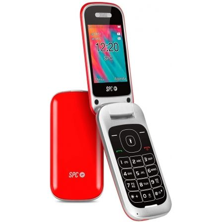 Teléfono Móvil SPC Velvet/ Rojo