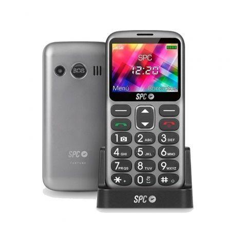 Teléfono Móvil SPC Fortune para Personas Mayores/ Negro