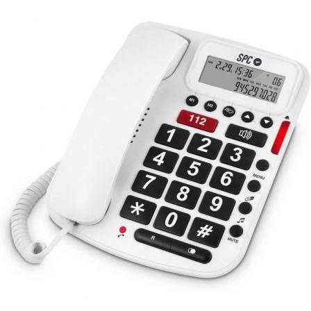 Teléfono SPC Telecom 3293/ Blanco