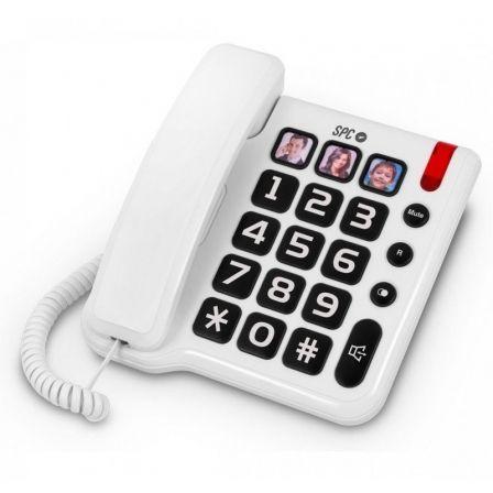 Teléfono SPC Comfort Numbers 3294/ Blanco