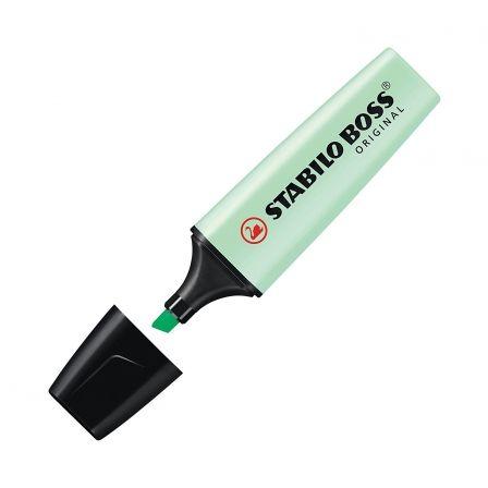 Marcador Fluorescente Stabilo Boss Original/ Verde Menta Pastel