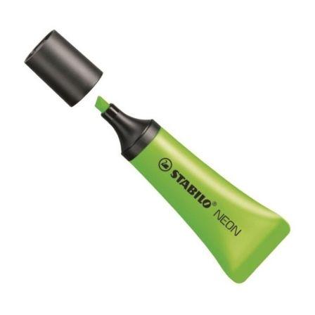 Marcador Fluorescente Stabilo Neon/ Verde