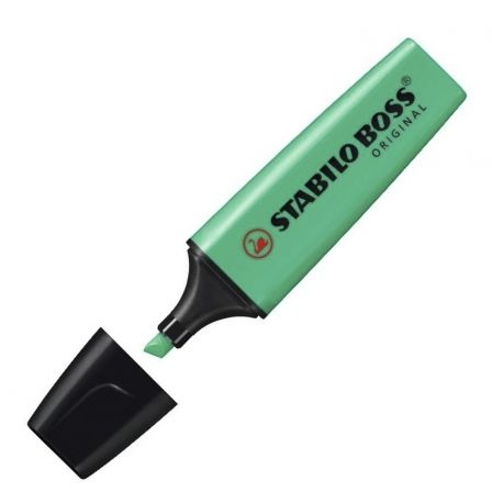 Marcador Fluorescente Stabilo Boss Original/ Turquesa