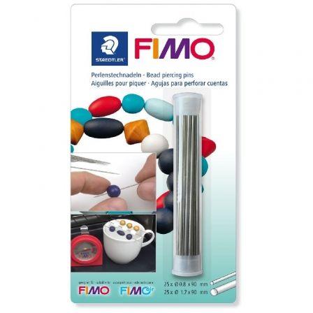 Agujas para Perforar Cuentas Staedtler FIMO 8712 20/ 50 uds
