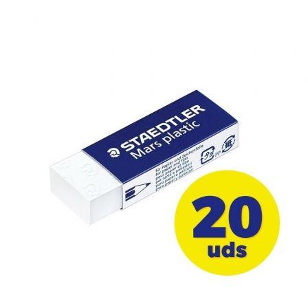 STAEDTLER Mars plastic - borrador - blanco - vinilo
