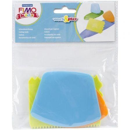 Set 3 Herramientas para Modelar Staedtler FIMO Kids Work and Play Cutting Tools