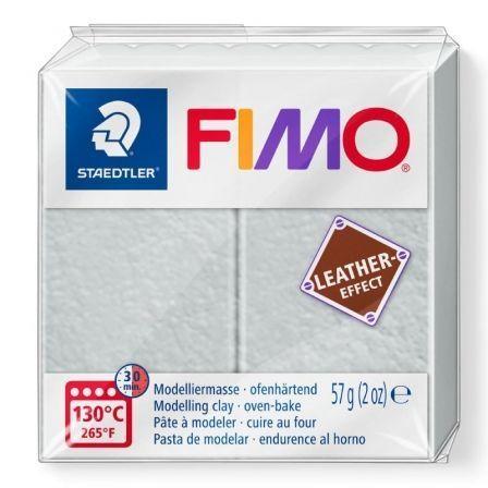 Pasta de Modelar de endurecimiento al Horno Staedtler FIMO Leather Effect/ 57g/ Gris Paloma