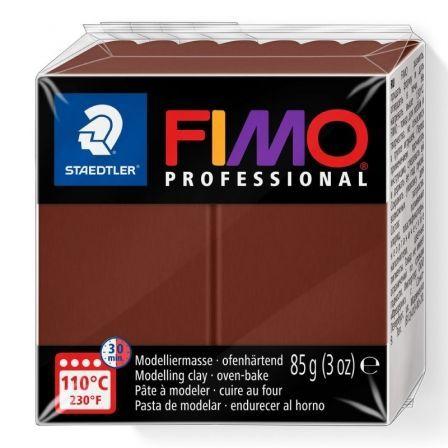 Pasta de Modelar de Secado al Horno Staedtler FIMO Professional/ 85g/ Chocolate