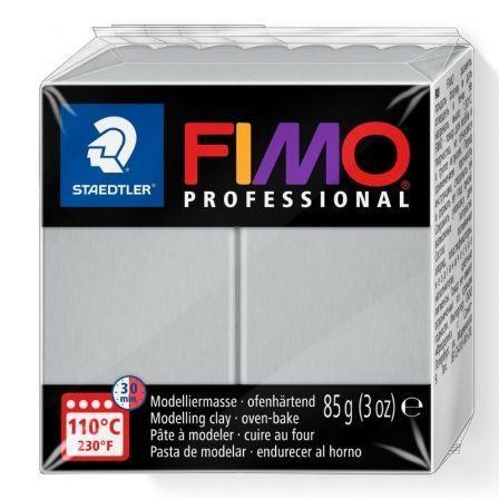 Pasta de Modelar de Secado al Horno Staedtler FIMO Professional/ 85g/ Gris Delfín