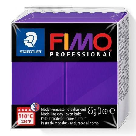 Pasta de Modelar de Secado al Horno Staedtler FIMO Professional/ 85g/ Lila