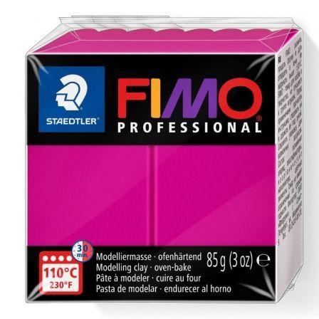 Pasta de Modelar de Secado al Horno Staedtler FIMO Professional/ 85g/ Magenta Sólido