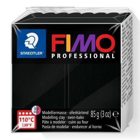 Pasta de Modelar de Secado al Horno Staedtler FIMO Professional/ 85g/ Negro