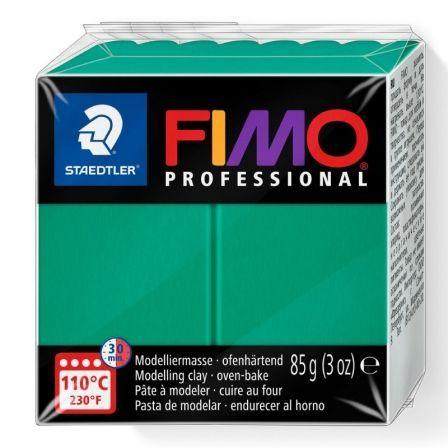 Pasta de Modelar de Secado al Horno Staedtler FIMO Professional/ 85g/ Verde Sólido