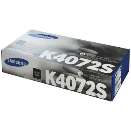 Tóner Original Samsung CLT-K4072S/ Negro