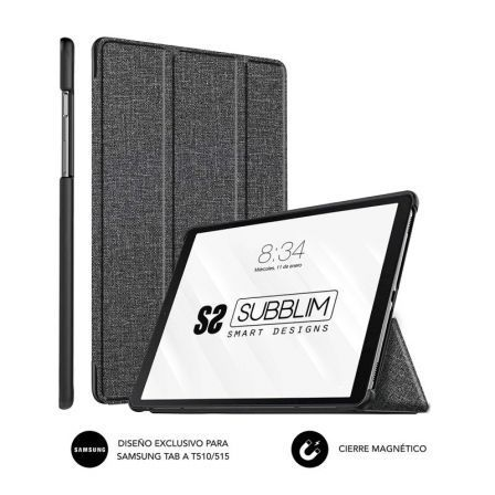 Funda Subblim Shock para Tablets Samsung GT A T510/515/ Negra