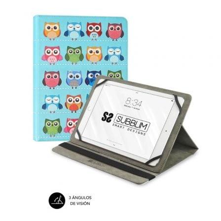 Funda Subblim Trendy Owls para Tablets de 10.1\